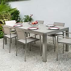 Table rectangulaire Vintage,  6/8 person...