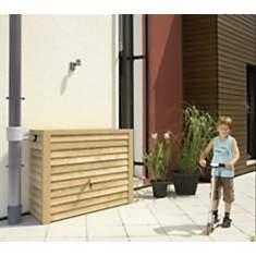Réservoir 350 litres Woody  aspect bois ...