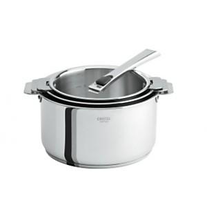 3 casseroles CRISTEL Casteline 16 à 20cm