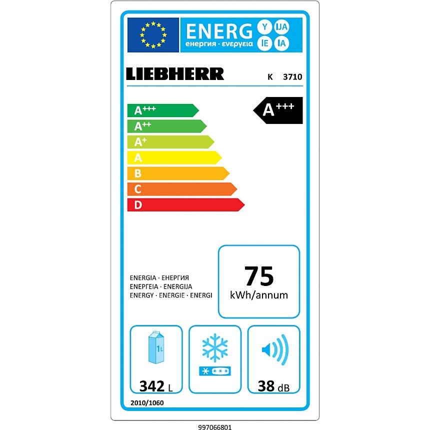 Réfrigérateur LIEBHERR K3710-20 garanti  5 ans