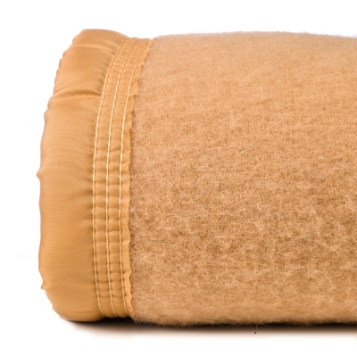 Couverture laine Woolmark Champagny  OURSON