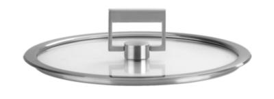 3 couvercles plats CRISTEL 16/18/20 cm  ligne Strate