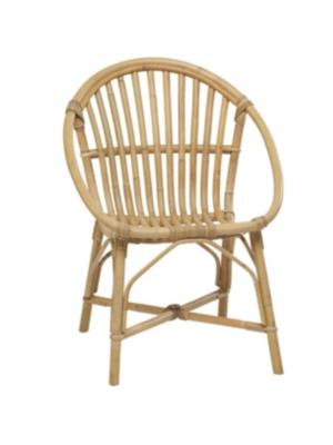 fauteuil rond rotin seventies kok. Black Bedroom Furniture Sets. Home Design Ideas