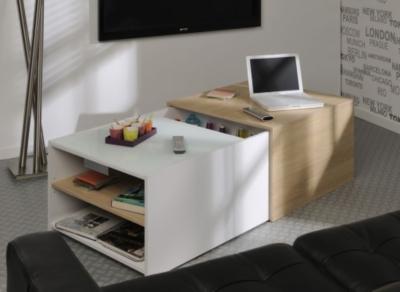 table basse bar noa. Black Bedroom Furniture Sets. Home Design Ideas