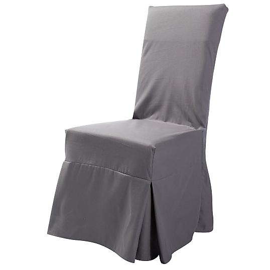 housse universelle de chaise tosca tutti tempo gris. Black Bedroom Furniture Sets. Home Design Ideas