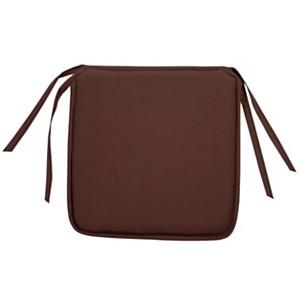 Galette de chaise Palma TUTTI TEMPO,  chocolat