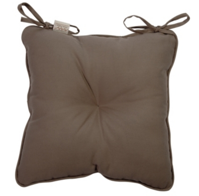 Coussin de chaise Romy TUTTI TEMPO,  taupe