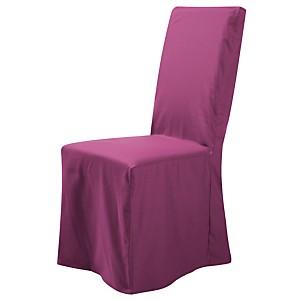 Housse universelle de chaise Noémie  TUTTI TEMPO, cassis