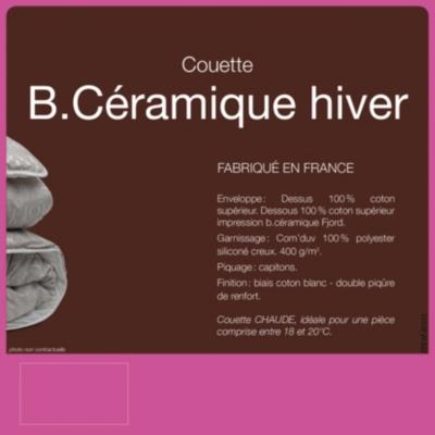 Couette B-Céramique FJORD BY LESTRA,  chaude