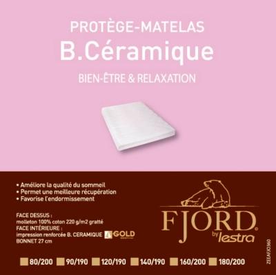 Protège matelas Bio Céramique Fjord  LESTRA, FIN DE SERIE