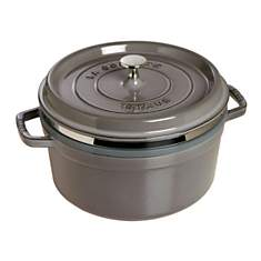 Cocotte  ronde STAUB avec cuit vapeur  2