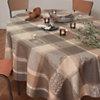 Lot de 4 serviettes de table Mille Wax  GARNIER THIEBAUT, Argile