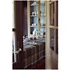 Lot de 4 serviettes de table Mille Wax  GARNIER THIEBAUT, Cendre