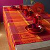 Lot de 4 serviettes de table Mille Wax  GARNIER THIEBAUT, Ketchup