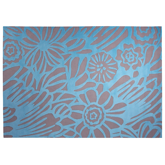 Tapis finally summer esprit home bleu - Tapis camif ...