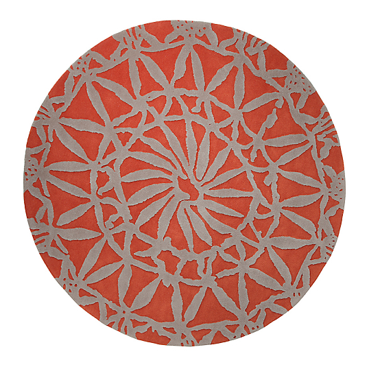 Tapis oriental lounge esprit home orange - Tapis camif ...