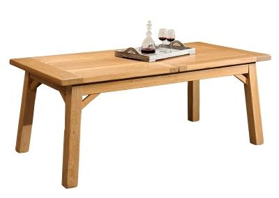 Table rectangulaire à allonges Manufactu