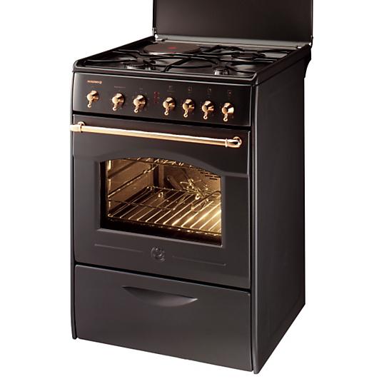 cuisini re mixte rosieres rcm7992ru 4 foyer rustique anthracite. Black Bedroom Furniture Sets. Home Design Ideas