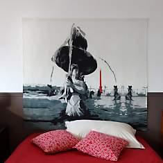 Tête de lit Place Concorde  MADEMOISELLE...