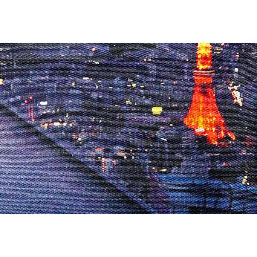 Panneau décoratif Paris àTokyo  MADEMOISELLE TISS