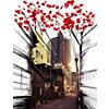 Panneau décoratif Tokyo Street  MADEMOISELLE TISS