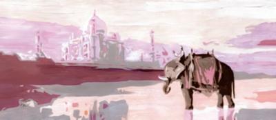 Tête de lit Palais Indien MADEMOISELLE  TISS