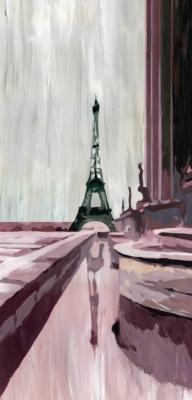 Grand panneau déco Trocadéro  MADEMOISELLE TISS