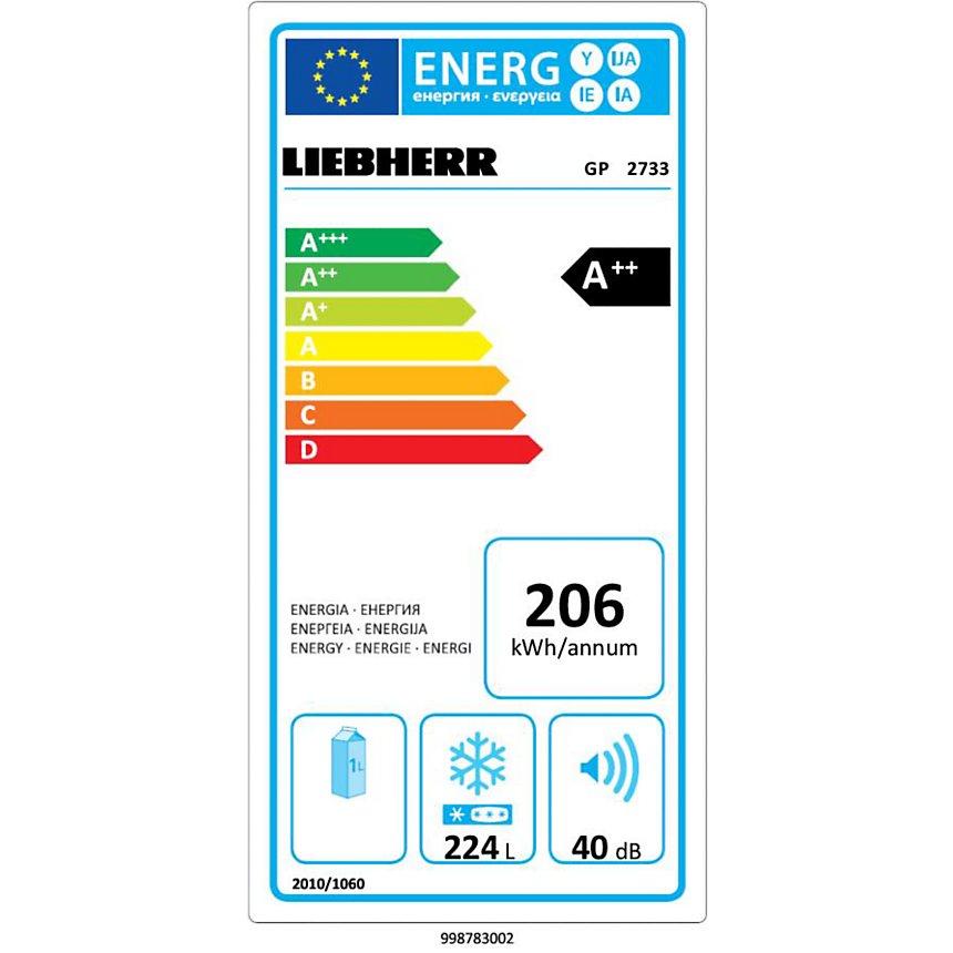 Congélateur LIEBHERR GP2733