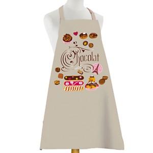 Tablier Eclairs au Chocolat TORCHONS &am