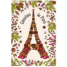 Torchon Chocolats de Paris TORCHONS &amp...