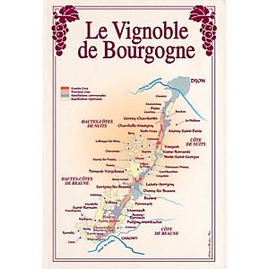 Torchon Vignoble de Bourgogne TORCHONS  & BOUCHONS