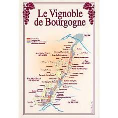 Torchon Vignoble de Bourgogne TORCHONS  ...