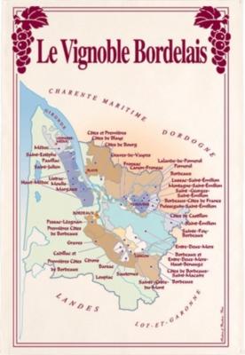 Torchon Vignoble Bordelais TORCHONS &  BOUCHONS