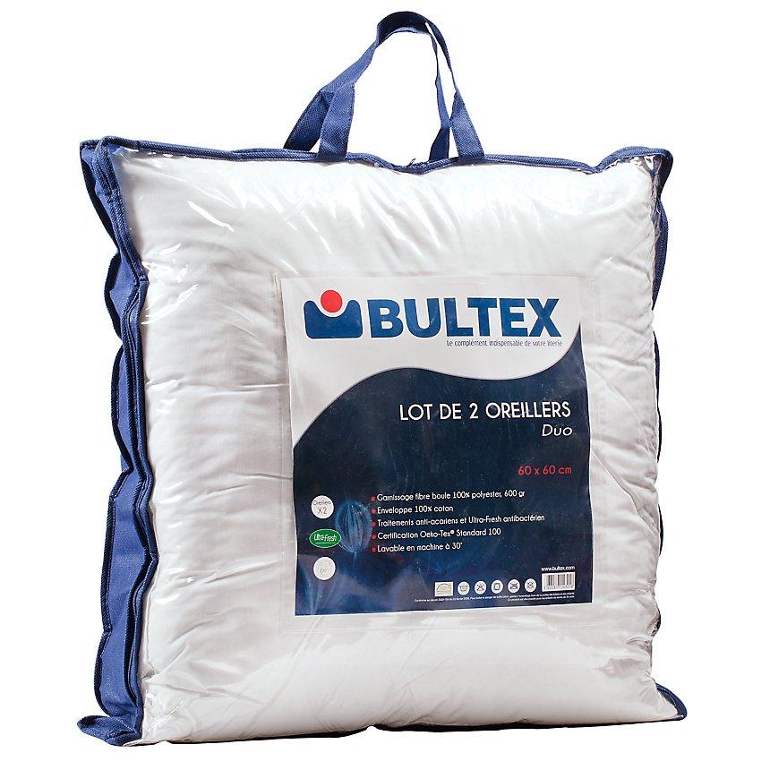 Lot de 2 oreillers Duo BULTEX
