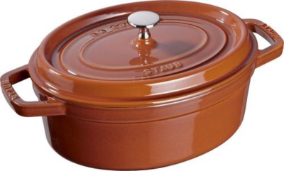 Cocotte ovale STAUB 31 cm cannel...