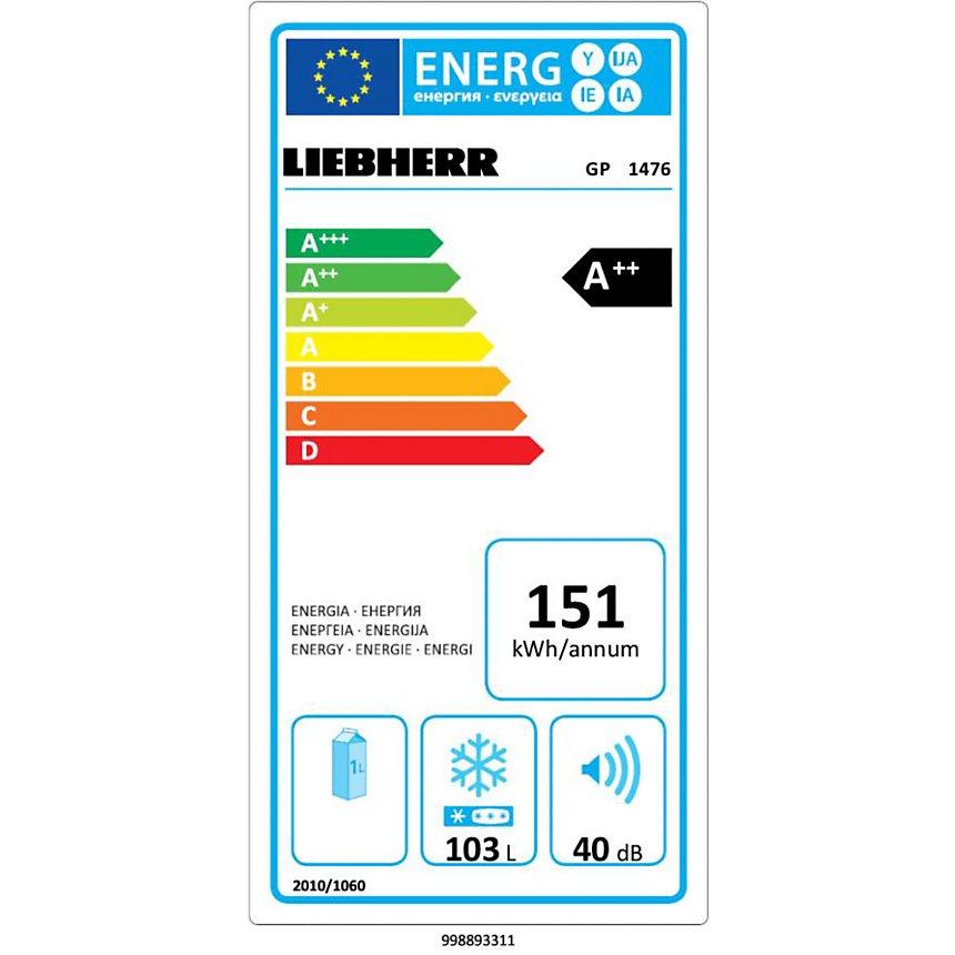 Congélateur LIEBHERR GP1476
