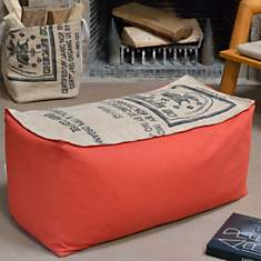 Banquette pouf Café Doux LILOKAWA,  oran...