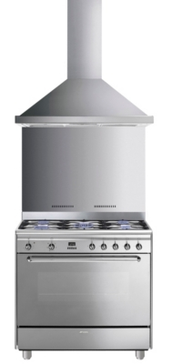 Ensemble piano de cuisson SMEG G...