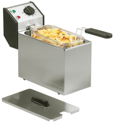 Friteuse roller grill 5 litres fd50 - Rotissoire professionnelle roller grill ...