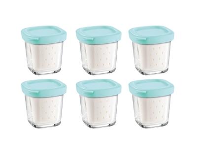 Lot de 6 pots yaourt et faissell...