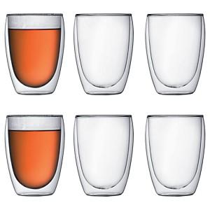 Lot de 6 verres double paroi BODUM 35 cl
