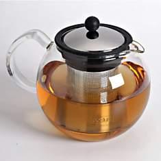 Théière en verre filtre inox BODUM 1,5L