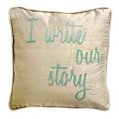 Coussin I Write Our Story LOUNGE FABRICS