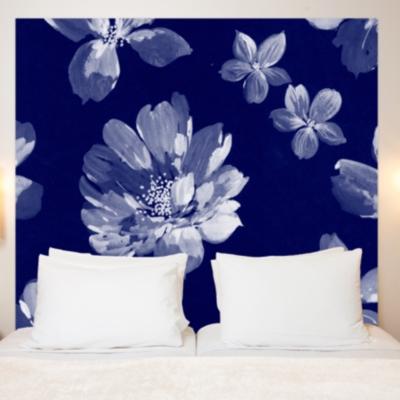 t te de lit pistilles mademoiselle tiss. Black Bedroom Furniture Sets. Home Design Ideas