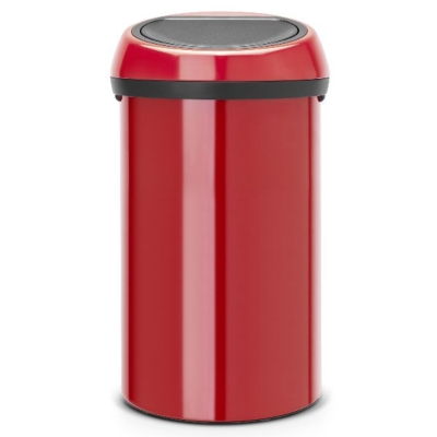 Poubelle 60 L BRABANTIA Passion Red - To