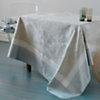 Lot de 4 serviettes de table Isaphire  GARNIER THIEBAUT, Platine