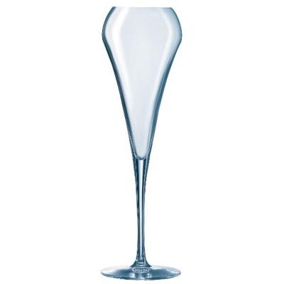 Lot de 6 flûtes à champagne 20 cl  Effervescent Open Up CHEF&SOMMELIER