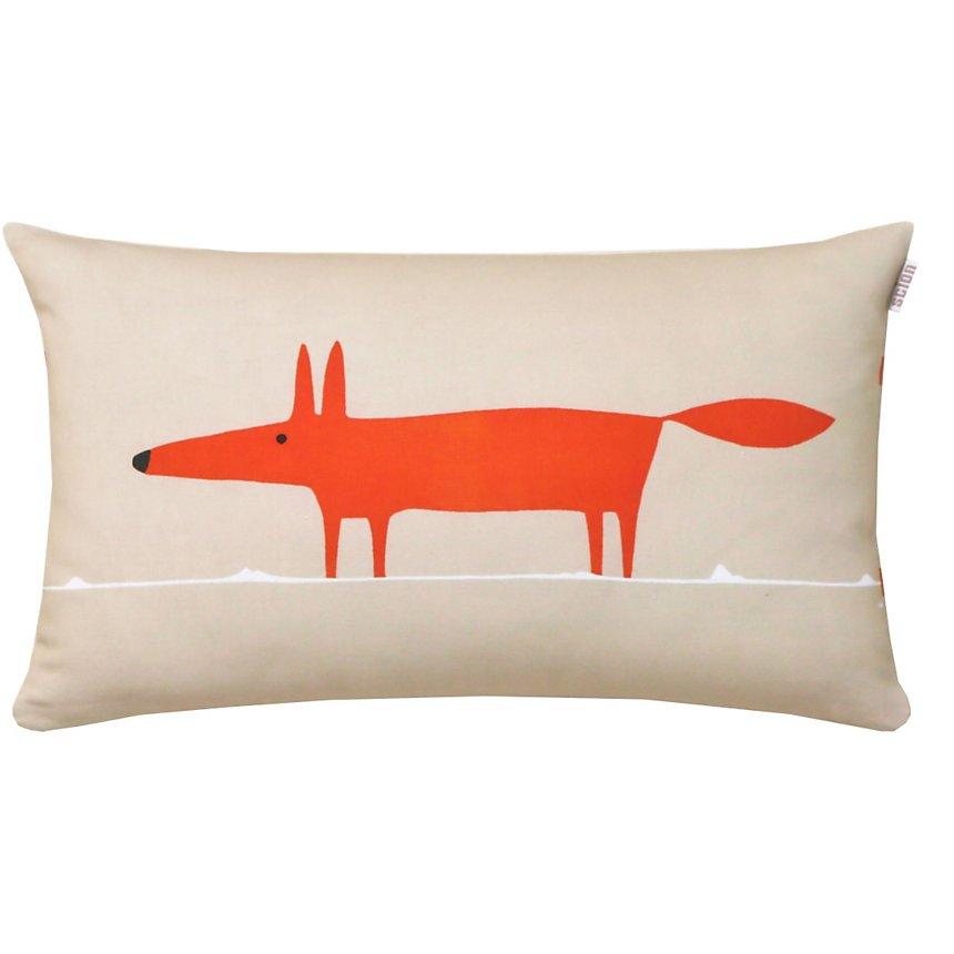Coussin Mr Fox SCION LIVING, mandarine