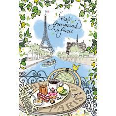 Torchon Café Gourmand TORCHONS ET  BOUCH...