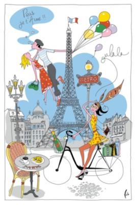 Torchon La Parisienne TORCHONS ET  BOUCHONS